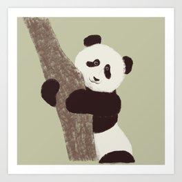 Lil panda Art Print