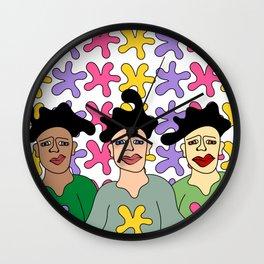 goofyhairday Wall Clock