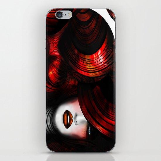 WOMAN FACE (ELEGANCE) iPhone & iPod Skin