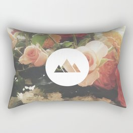 What are men to rocks and mountains? Rectangular Pillow