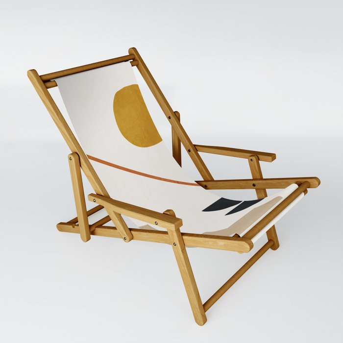 abstract minimal 6 Sling Chair