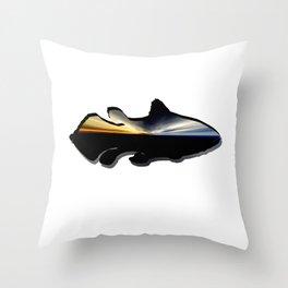 Collection: Aqua coelacanth Throw Pillow