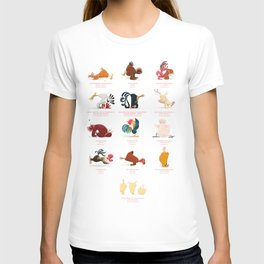 Chicken Yoga T-shirt