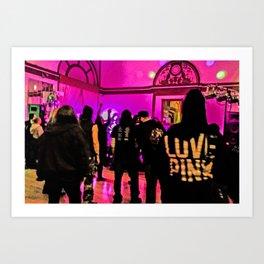 Nightclub Art Print