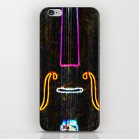cello iPhone & iPod Skins featuring Cello by J.Lauren
