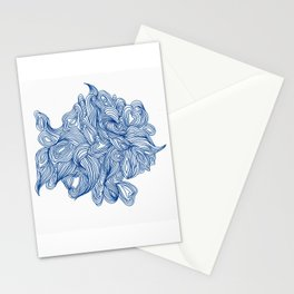 Blue To No End Stationery Cards