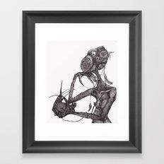 GET YOUR RAT OUT Framed Art Print