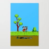 gameboy Canvas Prints featuring Gameboy by Janismarika