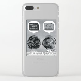 Twink Clear iPhone Case