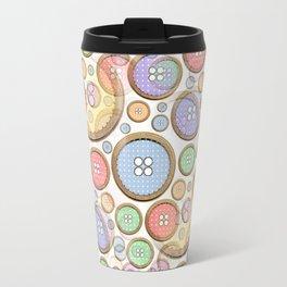 Rainbow Buttons part 2  Travel Mug