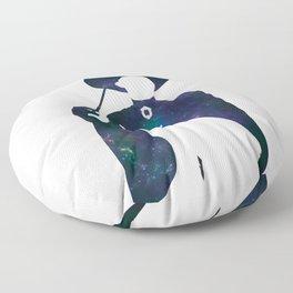 Minerva and Cat Floor Pillow