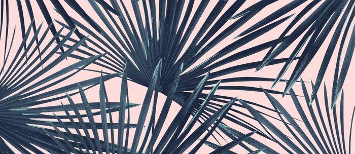 Tropical Fan Palm Leaves #4 #tropical #decor #art #society6 Coffee Mug