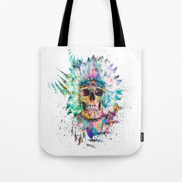 SKULL - WILD SPRIT Tote Bag
