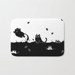 Coffee Cats Bath Mat