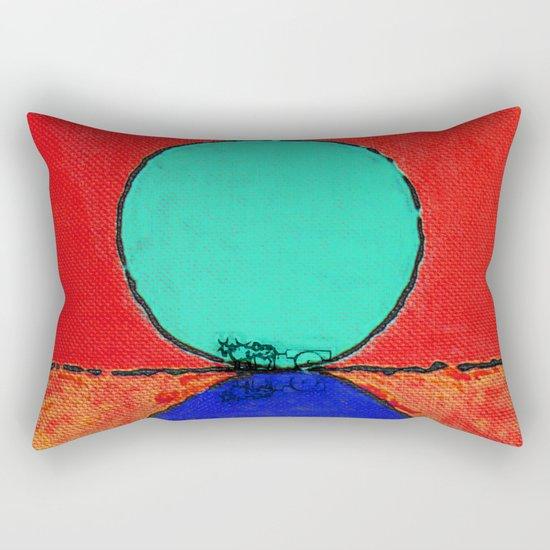 Carro de Boi (Bullock Cart) Rectangular Pillow