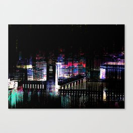 Stuttgart main station III Canvas Print