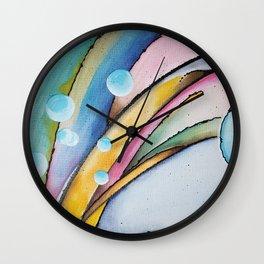 Birth of a Wave Wall Clock