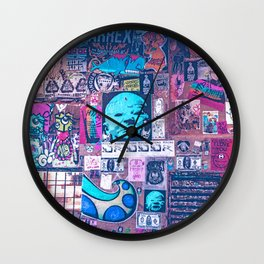 Seattle Post Alley Pop-Art Wall Clock