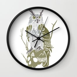 OWL GUARD Wall Clock