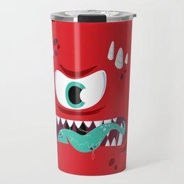 Baddest Red Monster! Travel Mug