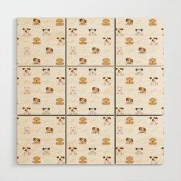 Puppy Dog Baby Nursery Wall Art Wood Wall Art