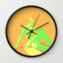 Lime Steve Wall Clock