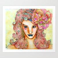 Miss Levine Art Print