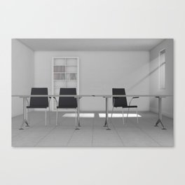 The Classroom Canvas Print