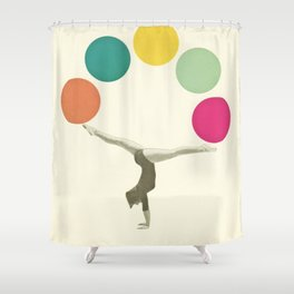 Gymnastics II Shower Curtain