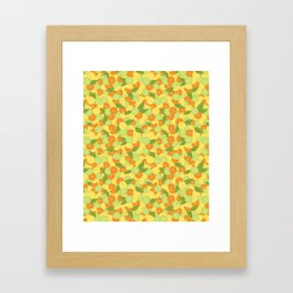 Citrus Carnival Framed Art Print