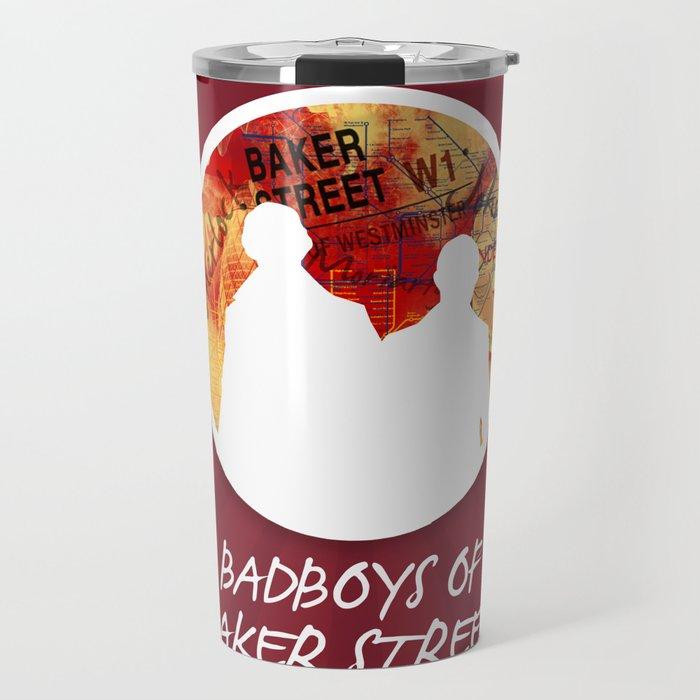Bad Boys Of Baker Street (Modern) Travel Mug