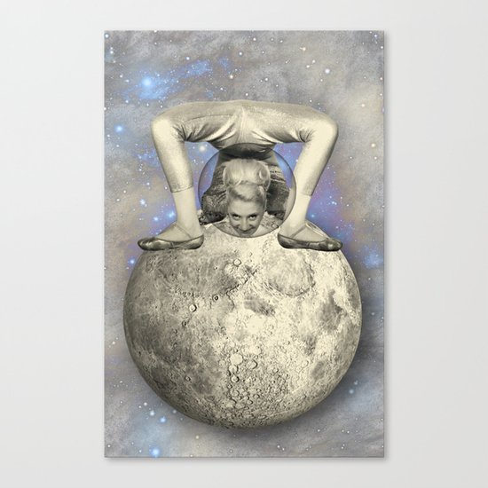 COSMIC CONTORTIONIST Canvas Print