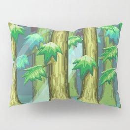 Forest of Pixels Pillow Sham