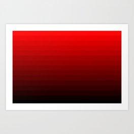 ONeg Gradient Art Print