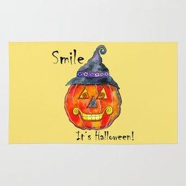 Smile, it's Halloween! Rug