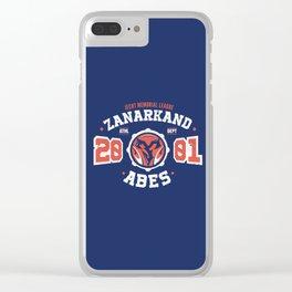 Zanarkand Abes Blitzball Athletic Shirt Distressed Clear iPhone Case