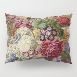 "Pieter van Loo ""Vase with flowers"" (I) Pillow Sham"