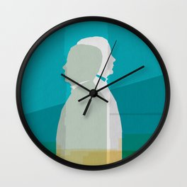 Two men Wall Clock