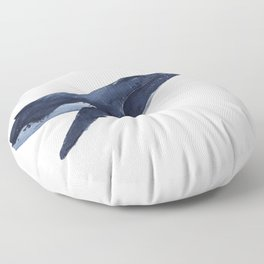 HUMPBACK WHALE I Floor Pillow