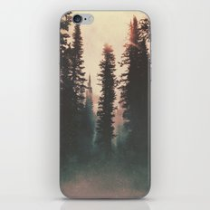 Smokey Forest iPhone & iPod Skin