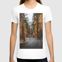 Autumn Forest Road II T-shirt