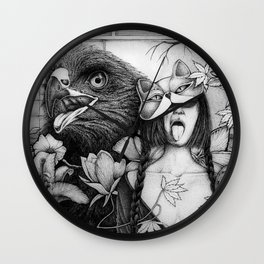 Moi Moi and the Hawk Wall Clock