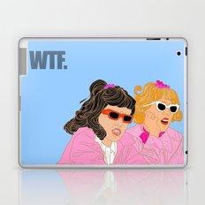 WTF - Grease Movie Vibes Got Me Like - Throwback Fan Digital Art Laptop & iPad Skin