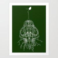 Hope (dark tee version) Art Print