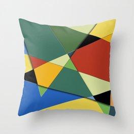 Vincent's Palette Throw Pillow