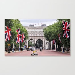 Admiralty Arch, London Canvas Print