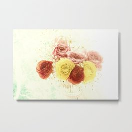 Beautiful spring bouquet Metal Print