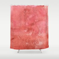 champagne Shower Curtains featuring Champagne Sunset by Andrea Gingerich