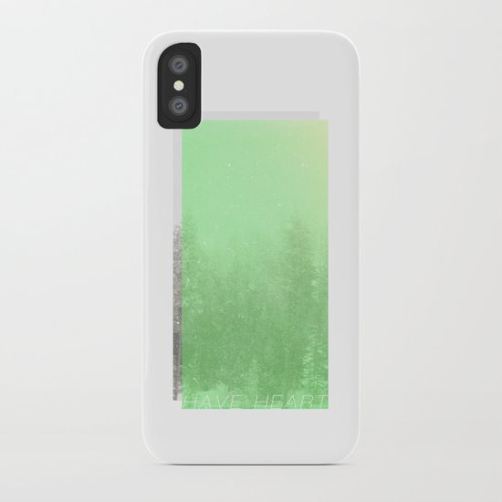 have heart iPhone Case
