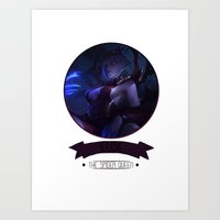 league of legends Art Prints featuring League Of Legends - Elise by TheDrawingDuo